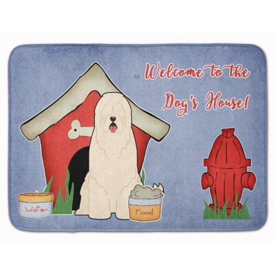 Dog House South Russian Sheepdog Memory Foam Bath Rug