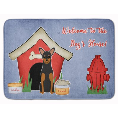 Dog House Manchester Terrier Memory Foam Bath Rug