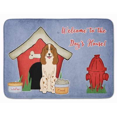 Dog House Russian Spaniel Memory Foam Bath Rug
