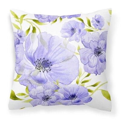 Hrima Flowers Outdoor Throw Pillow