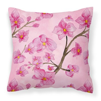 Escalera Flowers Outdoor Throw Pillow
