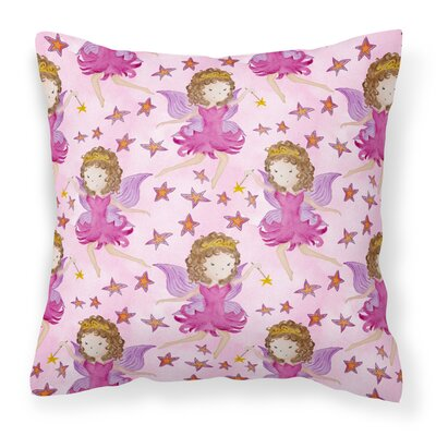 Stevens Fairy Princess Outdoor Throw Pillow