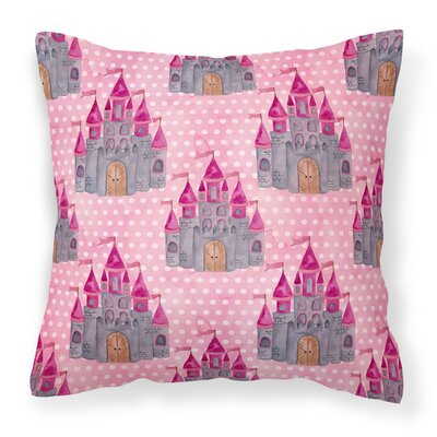 Perkins Princess Castle Outdoor Throw Pillow