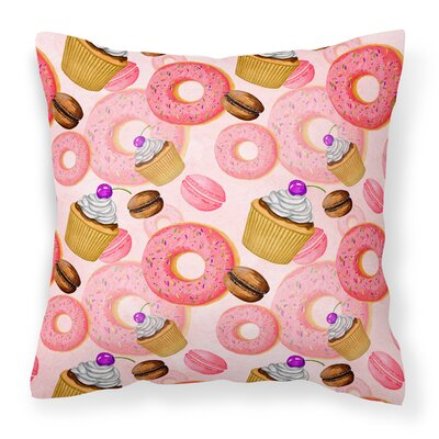 Eastwood Sweet Pastries Outdoor Throw Pillow