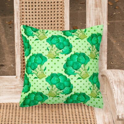 Coldale Broccoli Outdoor Throw Pillow