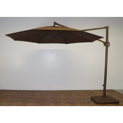 11 Cantilever Umbrella Fabric: Kona Brown