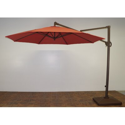 11 Cantilever Umbrella Fabric: Paprika