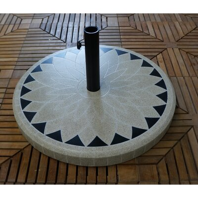 Fiberstone Umbrella Base Color: Beige