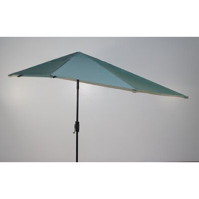 16 Market Umbrella Fabric: Glacier Blue