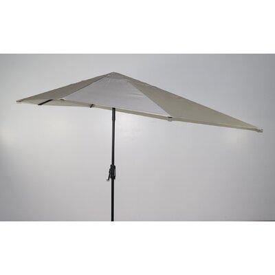 16 Market Umbrella Fabric: White