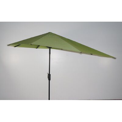 16 Market Umbrella Fabric: Parrot Green