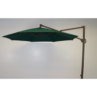 11 Cantilever Umbrella Fabric: Forest Green