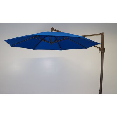 11 Cantilever Umbrella Fabric: Pacific Blue