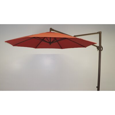 11 Cantilever Umbrella Fabric: Paprika Main