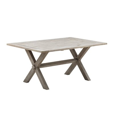 Affaire Dining Table Table Size: 63 L x 39.4 W