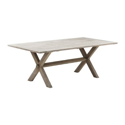 Affaire Dining Table Table Size: 78.7 L x 39.4 W