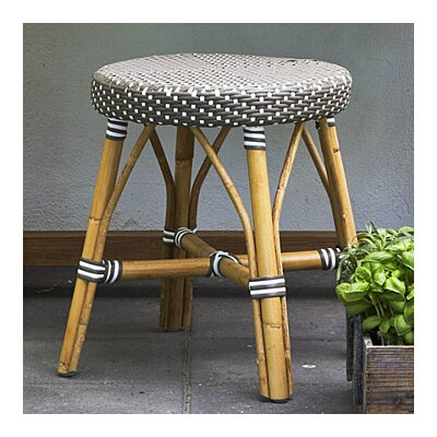 Affaire 18.1 Bar Stool Color: Cappuccino with White Dots