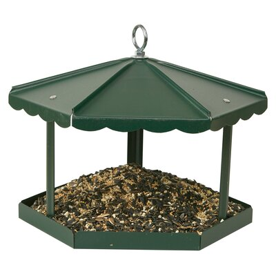 Fly Thru Gazebo Tray Bird Feeder