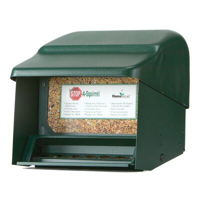 Super Stop a Squirrel Hopper Bird Feeder