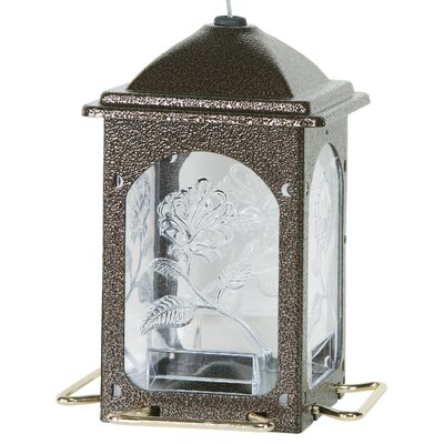 Meadow Rose Hopper Bird Feeder