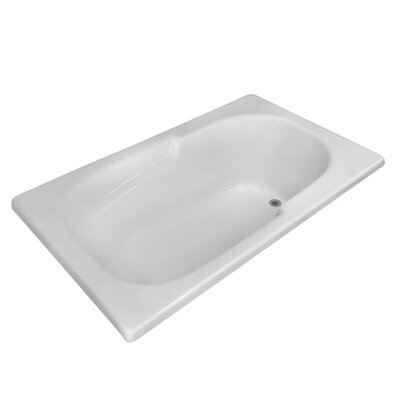 Hygienic 60 x 36 Soaking Bathtub
