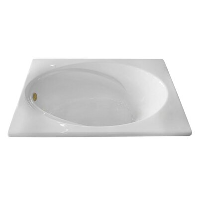 Hygienic Air Massage 60 x 42 Bathtub Drain Location: Right