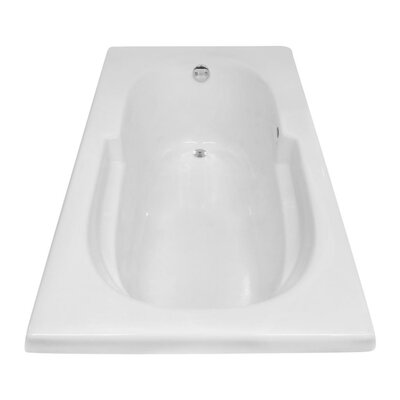 Hygienic Air 60 x 32 Bathtub Drain Location: Right