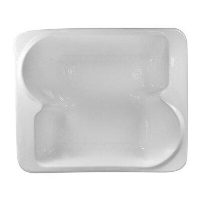 Hygienic 72 x 60 Soaking Bathtub