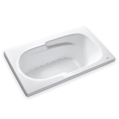 Hygienic Air 60 x 32 Bathtub Drain Location: Left