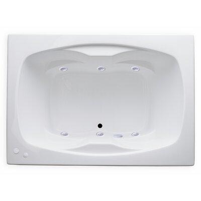 Hygienic Aqua Massage 60 x 42 Whirlpool Bathtub