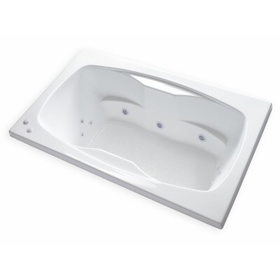 Hygienic Aqua Massage 60 x 42 Whirlpool Bathtub