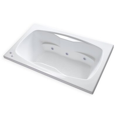 Hygienic Aqua Massage 72 x 42 Whirlpool Bathtub