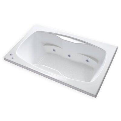 Hygienic Aqua Massage 72 x 42 Whirlpool Bathtub
