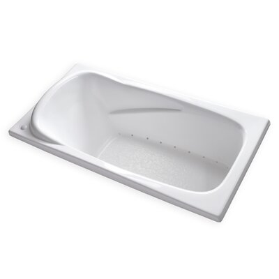 Air 72 x 36 Bathtub Drain Location: Right