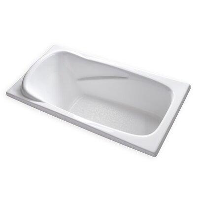 Hygienic 72 x 36 Soaking Bathtub