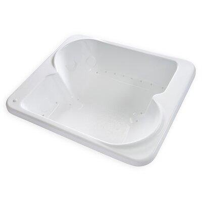 Hygienic Air Massage 72 x 60  Bathtub