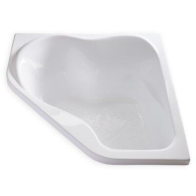 Hygienic 59 x 59 Soaking Bathtub