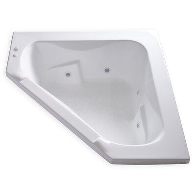 Hygienic Aqua Massage 60 x 60 Whirlpool Bathtub
