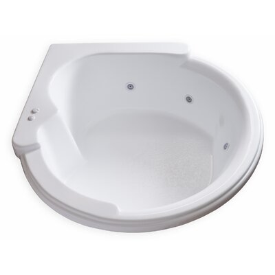 Hygienic Aqua Massage 64 x 59 Whirlpool Bathtub