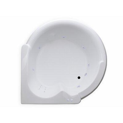 Hygienic Aqua Massage 64 x 59 Whirlpool Bathtub