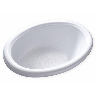Hygienic Air 58 x 39 Bathtub Drain Location: Left