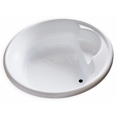 Hygienic Air Massage 72 x 72 Bathtub