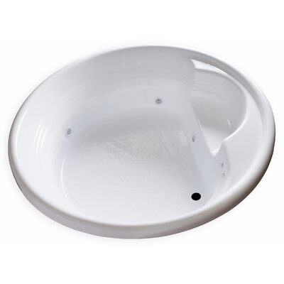 Hygienic Aqua Massage 72 x 72 Whirlpool Bathtub