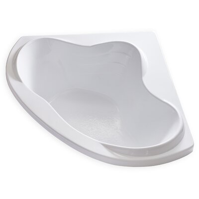 Hygienic 59 x 59 Soaking Bathtub