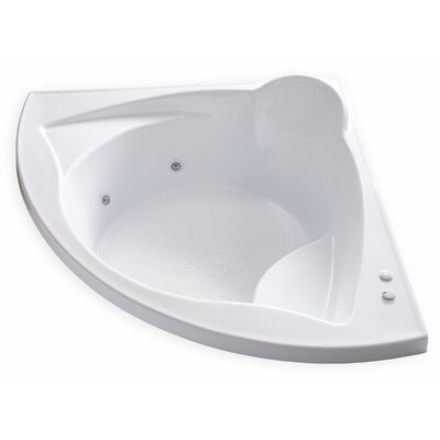 Hygienic Aqua Massage 60 x 60 Whirlpool Bathtub