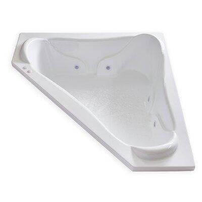Hygienic Aqua Massage 72 x 72 Whirlpool Bathtub