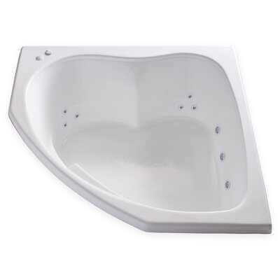 Hygienic Aqua Massage 55 x 55 Whirlpool Bathtub