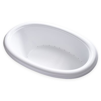 Hygienic Air Massage 69 x 42 Bathtub Drain Location: Right