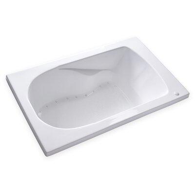 Hygienic Air 60 x 36 Bathtub Drain Location: Left