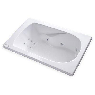 Hygienic Aqua Massage 60 x 36 Whirlpool Bathtub Drain Location: Right